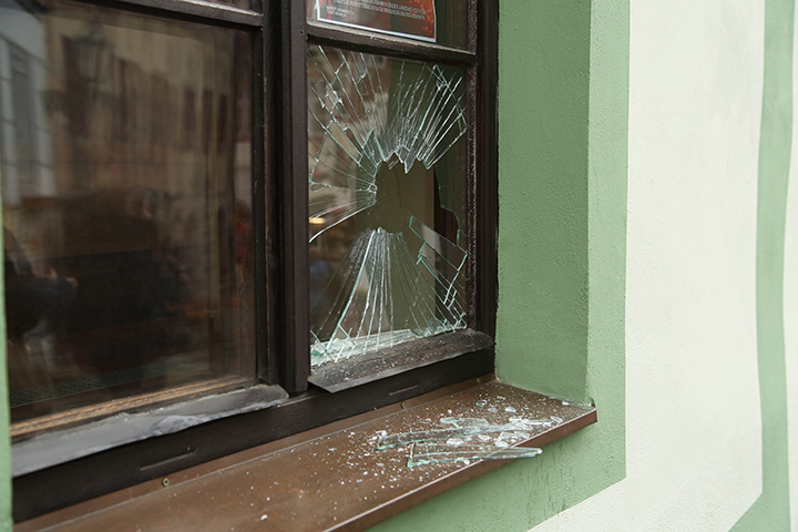 A2B Glass are able to board up broken windows while they are being repaired in Westbourne.